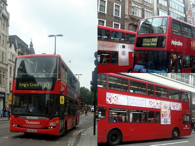 Londons bussar