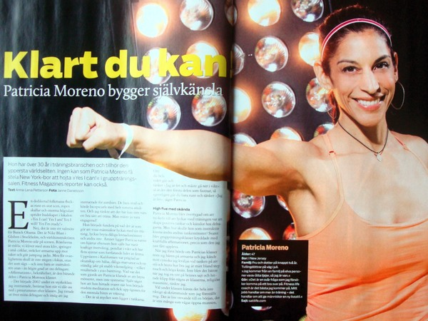 Fitness Magazine april 2012 Patrica Moreno